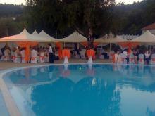 Кетъринг: Сватба на басейн Корали, 120 гости - 29.06.2008г