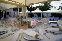 Кетъринг: Градинска сватба на басейн в частен дом-30.07.2011г.