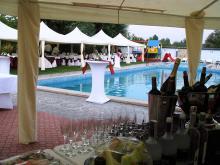 Кетъринг: Сватба на басейн Чери, 80 гости - 05.09.2009г.