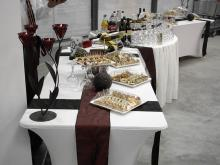 Кетъринг: Откриване на магазин Техномаркет, гр. Видин, 70 гости - 05.12.2008г