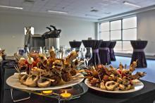 Кетъринг: Кафе пауза и обяд в логистичен център Била, 13 гости - 16.10.2010г.