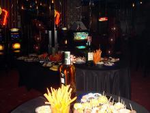 Кетъринг: Една година казино Алфа, 150 гости - 09.12.2008