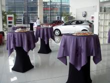 Кетъринг: Коктейл по случай връчване на наградите на Auto Card в Auto Union, 70 гости - 19.02.2010г.