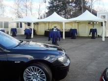 Кетъринг: Коктейл по случай Една година Бавария Ауто - 01.04.2010г.