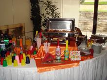 Кетъринг: Детски рожден ден в частен дом, 70 гости - 08.11.2008г.