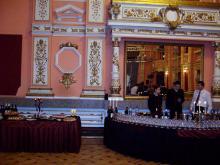 Кетъринг: Коктейл ревю в Централен военен клуб - Жана Жекова, 200 гости - 05.02.2009г