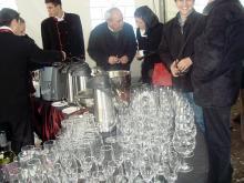 Кетъринг: Проект за разширение на метрото в София, 160 гости - 15.02.2009г