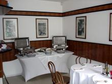 Кетъринг: Работен обяд в OMV, централен офис, 15 гости - 10.04.2008г