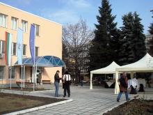 Кетъринг: Откриване на отремонтираната сграда на община Слатина, 150 гости - 13.02.09г
