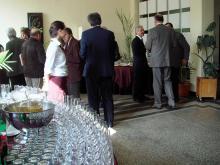Кетъринг: Коктейл в Техническия Университет, 100 гости - 15.04.2009г