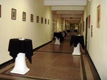 Кетъринг: Коктейл в Ректората на ТУ, 50 гости - 26.11.2009г.