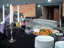 Кетъринг: Коктейл на Еврохолд Балканска лига за сезон 2009/2010г. - Полуфинал, зала Универсиада - 13.04.2010г.