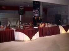 Кетъринг: Представяне на нов модел Ауди А6, 400 гости-22.10.2008г