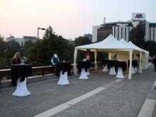 Кетъринг: Коктейл по случай закриването на изложбата - Аз и водата, 300 гости - 26.09.2009г.