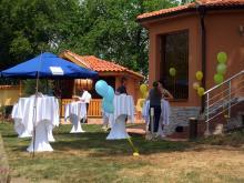 Кетъринг: Кръщене в с. Белица, 60 гости - 17.05.2009г.