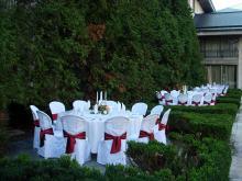 Кетъринг: Сватба в резиденция Бояна, 130 гости - 22.08.2009г.