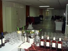 Кетъринг: Коктейл в УниКредит Булбанк, 50 гости - 31.08.2009г.