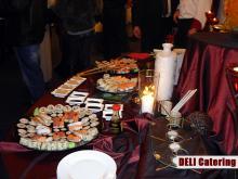 Кетъринг: Презентация на DELI Catering в гр. Плевен, 70 гости - 7.02.2008г.