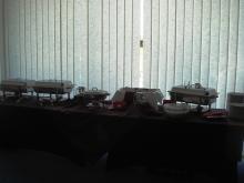 Кетъринг: Работен обяд в студиото на Харбър Айлънд Рекърдс, 35 гости - 28.03.2009г