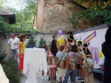 Кетъринг: Детски рожден ден - 35 родители и 17 деца, 29.08.2008г.