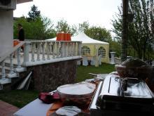 Кетъринг: Частно парти кв. Драгалевци, 40 гости - 27.04.2008г