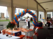 Кетъринг: OBO BETTERMANN, откриване на офис сграда и складова база, 400 гости - 17.06.2009г