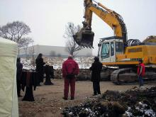 Кетъринг: Първа копка Sofia Outlet Center, 50 гости - 22.12.2007г.