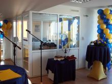 Кетъринг: Коктейл по случай откриване на нова сграда - Пиреос Банк, 120 гости - 10.03.2009г