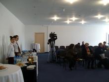 Кетъринг: Презентация пред журналисти в Зимен Дворец на Спорта, шорттрек - Самсунг, 50 гости - 05.02.2009г