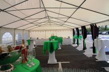 Кетъринг: Откриване новата логистична база на Белгийската Унивег край Елин Пелин 16.05.2011г