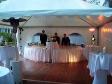 Кетъринг: Коктейл в нотариална кантора, 150 гости - 14.10.2009г.