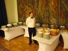 Кетъринг: Официална вечеря на МО - Военен клуб - 31.05.2012 г.