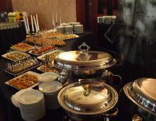 Кетъринг: Еврохолд - новогодишен коктейл - 20.12.2012 г.