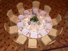 """Кетъринг: Гала-вечеря на Diageo (""""Диаджео"""") - Военен клуб - 31.05.2012 г."""
