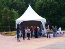 Кетъринг: Шатра под наем - Южен парк - 31.05.2012 г.
