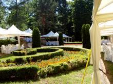 Кетъринг: Сватба на открито в градината на резиденция Лозенец  - 16.06.2012