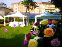 Кетъринг: Ботаническа градина София - Сватбен ритуал - 23.06.2012 г.