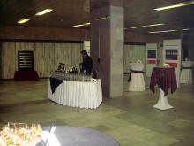 Кетъринг: Коктейл в УАСГ, зала Максима, 250 гости - 13.01.2009г