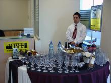 Кетъринг: Откриване на банков клон Сосиете Женерал Експресбанк, 25 гости - 27.03.2008г