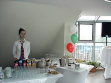 Кетъринг: Откриване на офис UNICA, 35 гости