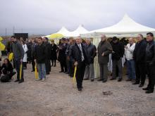 Кетъринг: Първа копка WEBER, гр. Костинброд 100 гости